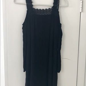 Xhilaration Black Crepe Dress